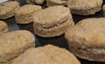 What to Do With All That Whey – Make Biscuits!