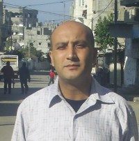 Rami Almeghari gaza writer photo