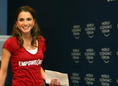 Queen Rania To Help Jordanian Farmers Go Organic