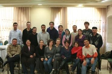 Jordanian, Palestinian and Israeli Green Bloggers Meet in Madaba, Jordan