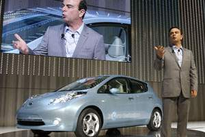 Turning Another Nissan Leaf in the Middle East
