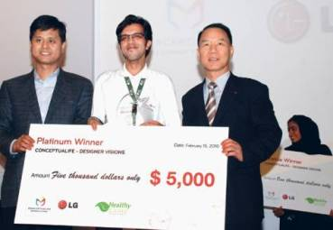 Middle Eastern LG Electronics Design Competition Concludes with Iranian Eco-Friendly Winner, Ali Kajuee