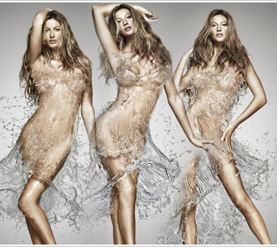 gisele giselle bundchen water dress brazil