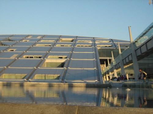 Bibliotheca Alexandrina solar panels?