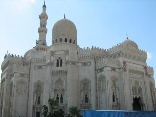 Abu Al-Abbas mosque in Alexandria