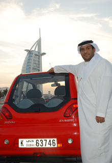 Dubai First Gulf State to Allow Fully Electric Reva Cars on the Road