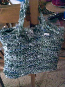 Recycling Plastic Bags Into…Beautiful Handbags