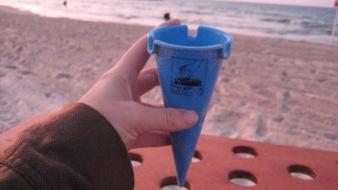 Cigarette Cones, So You Don't Butt Out on the Beach
