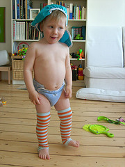 "Green Baby Steps: Eco-Mum says ""Cloth Nappies Reign"""
