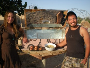 "Jews Celebrate ""Solar Seder"" in the Arava Desert at Kibbutz Lotan"