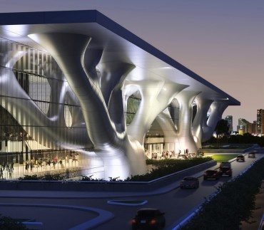 Qatar's New Green LEED Convention Center a Mini Masdar City
