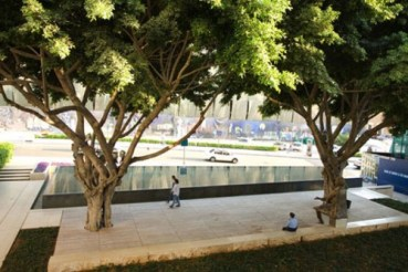 Samir Kassir Square Blends the Organic with the Urban in Beirut