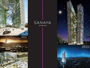 "Emirate-Built Sanaya Amman Towers To Be Jordan's Tallest and First ""Green"" Building"