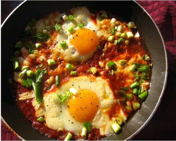 shakshouka shakshuka eggs tunisia israel photo