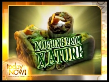 Taco Bell Goes Green with All Unnatural Ingredients