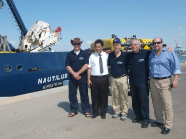 """Titanic"" Ship Leads Mediterranean Sea Floor Research Mission From Israel"