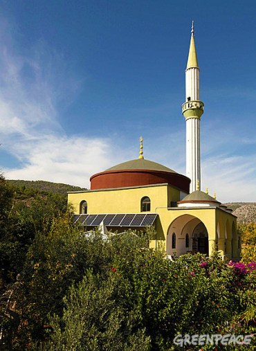 Mosque in Turkey Goes Solar