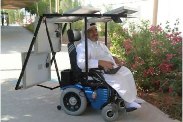 Solar-Powered Arab Superman Travels 130km In Wheelchair