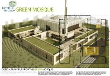 The Green Mosque Puts Faith In Its Eco-Friendly Place