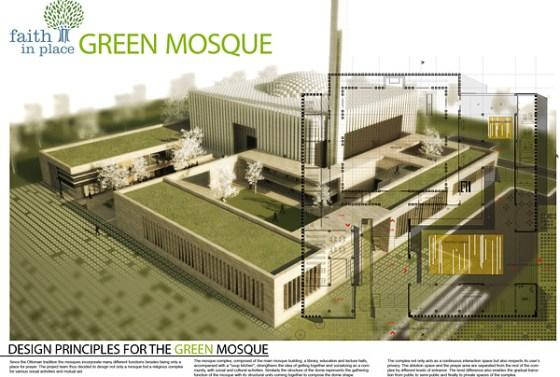 green-mosque