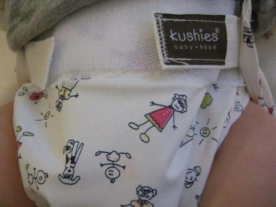 kushies washable cloth diaper