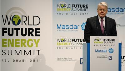 Iceland's Prez Promotes Geothermal at Masdar's World Future Energy Summit