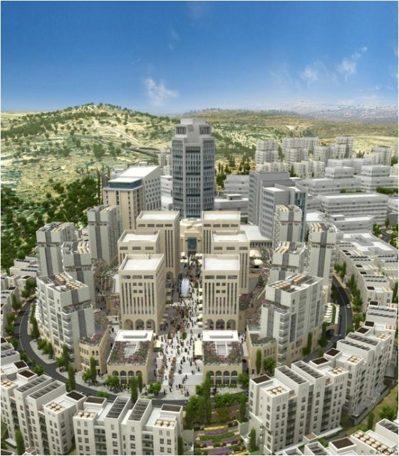 Palestine's Green City Faces New Criticism- this time about JNF Trees