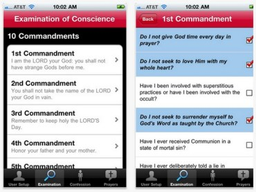 Too Cold To Confess In Church? Use Your iPhone Instead