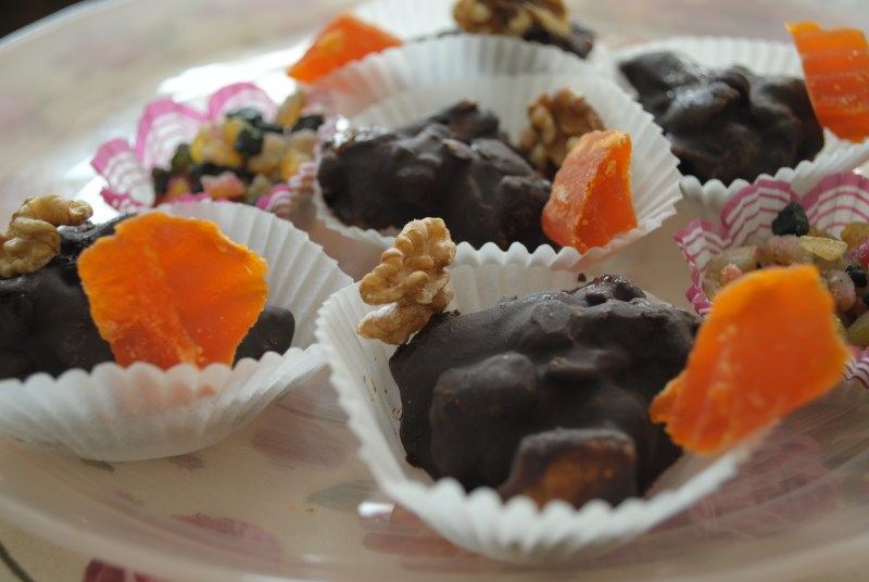 RECIPE: Chocolate-Nut Clusters
