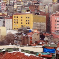 istanbul urban density