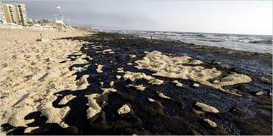 oil spill lebanon