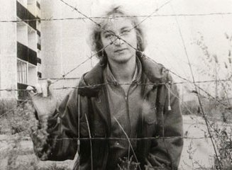 Chernobyl woman