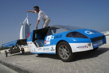Solar Powered Cars Roll Round the World – and in Palestine