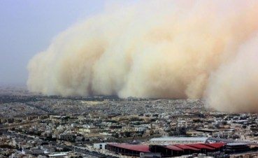 Blaming Iraq for Sandstorms that Cripple Iran