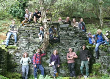 Reporter's Notebook: Woodland Building in Wales Cures the Green Blues