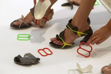 Piece-Meal High Heels Let Wearers Design Their Own Shoes