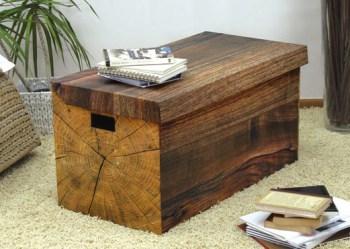 cardboard furniture trunk