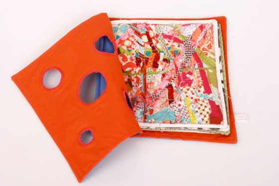 """handmade fabric book"""