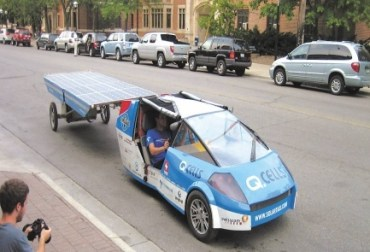 Solar Powered Taxi To Stop in Israel Next Week As Part of Worldwide Tour