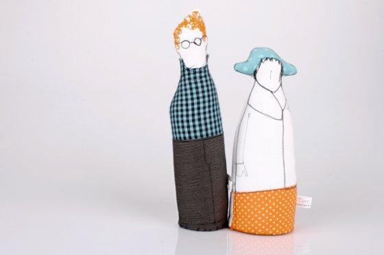 """vintage fabric dolls"""