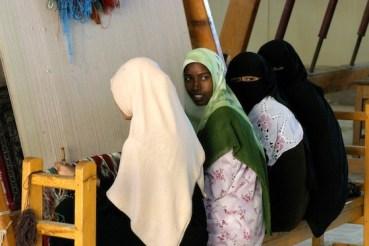 PHOTOS Part II: An Inside Peek at the Veiled Weavers of Siwa