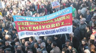 10,000 Turks Gather To Protest Coal-Fired Power Plant