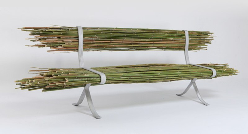 Raw Bamboo Bench is Green, But Is It Comfortable?