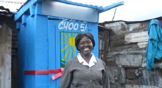 human waste, sanergy, kenya, slums, eco-toilets, green toilets, poop, katerva, crowd sourcing, poop power, energy from poop