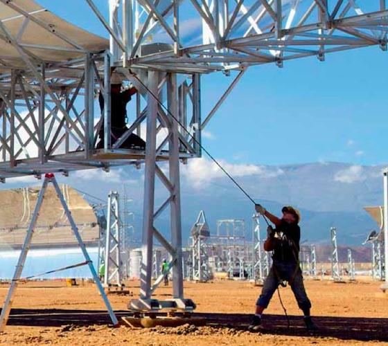 Chamelic Invents Answer for Desert Solar & Dust!