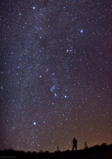 Is Light Pollution The End of Arabian Nights?