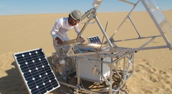 markus kayser, solar sinter, 3D printing