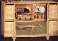 vintage admiral TV