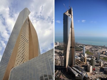 World's 13th Tallest Building Towers Over Kuwait City
