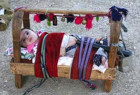 diapers, energy, water, environment, Uzbekistan, babies, cradle, Beshik